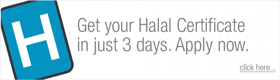 Get Halal Certified